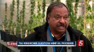 'We don't know exactly what they're doing': Researcher concerned about how hemp oil is produced [Video]