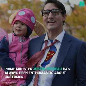 A Look Back At Justin Trudeau's Halloween Costumes [Video]