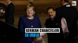 News video: German Chancellor Angela Merkel in Delhi, to meet PM Modi for talks