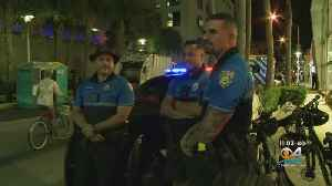 Halloween Street Party Goers Welcome Beefed Up Security On Miami Beach [Video]