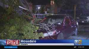 News video: Storm Damage Across NYC