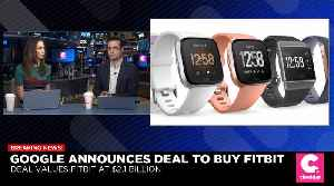 Google to Acquire Fitbit in $2.1 Billion Deal [Video]