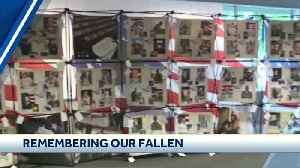 Memorial honoring fallen servicemembers to be displayed at Sunflower Showdown [Video]