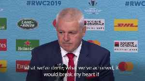 Gatland wants Wales to go forward as he waves goodbye after 12 years in charge [Video]