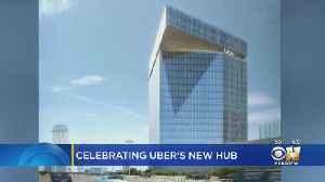 Gov. Abbott, Uber's CEO In Dallas To Break Ground On New Hub In Deep Ellum [Video]