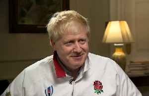 """Come on England!"" - British PM Johnson wishes team good luck for World Cup final [Video]"