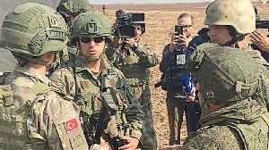 Russia and Turkey begin joint patrols in northeast Syria [Video]
