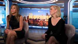Reese Witherspoon and Jennifer Aniston on working together again on The Morning Show [Video]