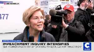 As Impeachment Trial Becomes More Likely, Sen. Elizabeth Warren Says 'I'll Be There' [Video]