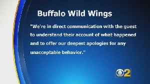 'We're Supposed To Be Past This:' Post About Allegedly Racially Charged Incident At Buffalo Wild Wings Goes Viral [Video]