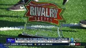Maryland's oldest football rivalry continues [Video]