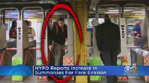 NYPD Reports Increase In Summonses For Fare Evasion [Video]