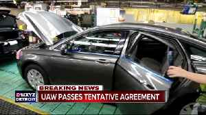 UAW passes tentative agreement [Video]