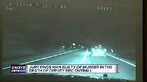 Jury finds man guilty of murder in the death of Deputy Eric Overall [Video]