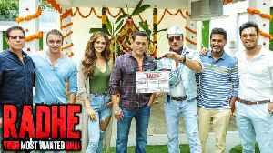 Salman Khan And Disha Patani Radhe Movie FIRST LOOK Out With Randeep Hooda, Sohail Khan [Video]
