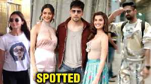 Alia Bhatt Laughs Out Loud At Airport, Sidharth Malhotra, Ayushmann Khurrana Spotted [Video]