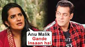 Salman Khan's Singer Neha Bhasin And Sona Mohapatra Slam Anu Malik And Sachin Tendulkar [Video]