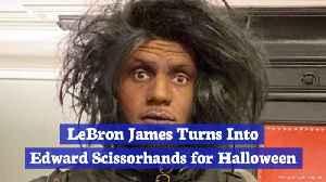 LeBron James' Halloween Costume [Video]