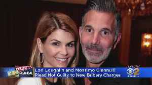 Lori Loughlin, Husband To Plead Not Guilty To New Bribery Charges [Video]