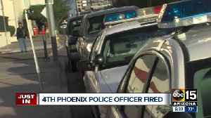 Phoenix police confirm fourth officer fired during the month of October [Video]