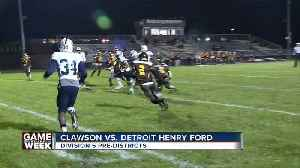 Clawson beats Detroit Henry Ford in WXYZ Game of the Week [Video]