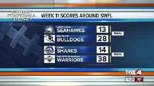 Week 11 high school football highlights and scores [Video]