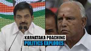 News video: Cong questions PM Modi, Amit Shah over BSY video 'admitting to poaching'