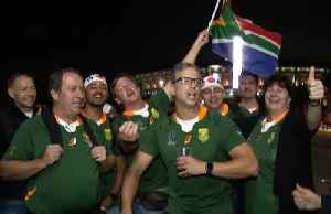 Springboks fans in Yokohama delighted with victory over England [Video]