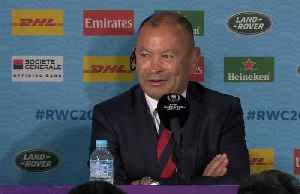 Sometimes bad days just happen, says bemused England coach Jones [Video]