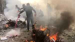 Turkey-Syria border: At least 13 killed in car bomb explosion [Video]