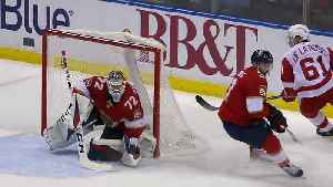 News video: Sergei Bobrovsky earns first shutout with Florida Panthers