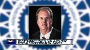 UAW President Gary Jones taking leave of absence amid corruption probe [Video]