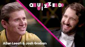 Allen Leech Quizzes Josh Groban on 'Downton Abbey' Trivia | Quizzed [Video]