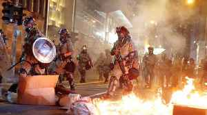 Hong Kong police fire tear gas to break up anti-government rally [Video]