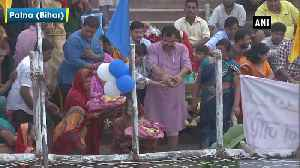 Devotees celebrate Chhath Puja with religious fervour [Video]