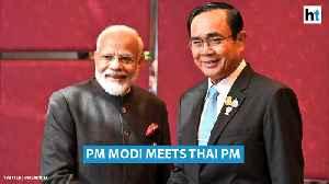 PM Modi, Thai PM Prayut Chan-o-cha meet in Bangkok; discuss trade, defence [Video]