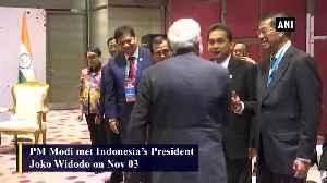PM Modi meets Indonesian President Joko Widodo in Bangkok [Video]