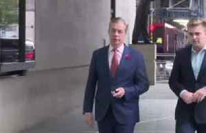 Brexit Party leader Farage will not run in UK election [Video]