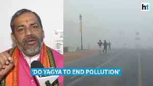 Pollution chokes Delhi, UP official says 'do yagya, pray to Indra' [Video]