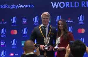 'One of the best moments of my life', says World rugby player of the year Du Toit [Video]