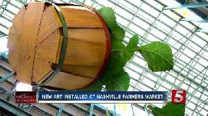 Nashville Farmers Market unveils new art and entrance [Video]