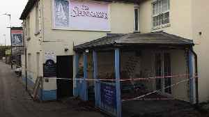 Man killed after car hits Colchester pub [Video]