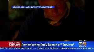 News video: Rudy Boesch, 'Survivor' Legend, Dies At 91 After Battle With Alzheimer's Disease