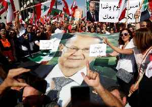 Thousands rally in show of support for Lebanon President Aoun