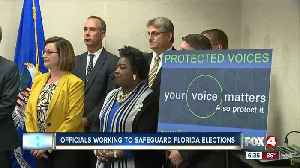 Officials working to safeguard Florida elections [Video]