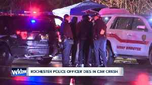 Rochester police officer dies in crash [Video]