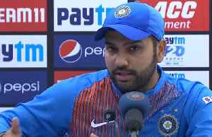 News video: Team trusts wicketkeeper for decisions. Rishabh Pant needs time to understand: Rohit Sharma