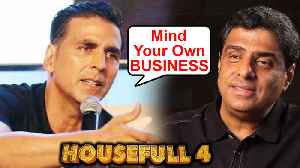 Akshay Kumar ANGRY REACTION On Housefull 4 Fake Box Office Numbers [Video]