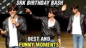 Shah Rukh Khan BEST & FUNNY Moments From His BIRTHDAY Celebration 2019 | FULL VIDEO [Video]