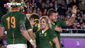 Kolbe's amazing try in Rugby World Cup final [Video]